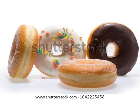 Donuts tasty fresh