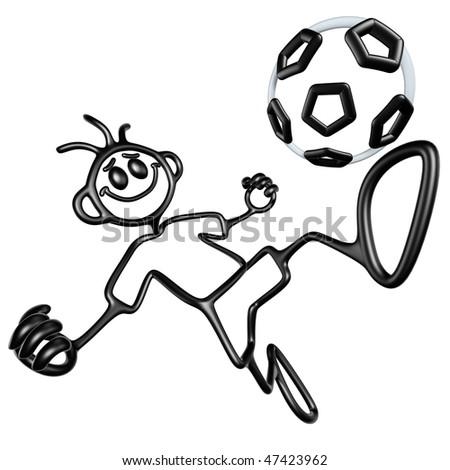 Doodle GuyZ Soccer Football