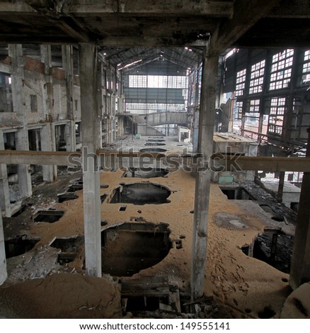 doomsday dilapidated ruins