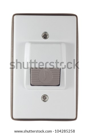 Door bell ring isolated