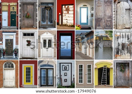 Door Collage