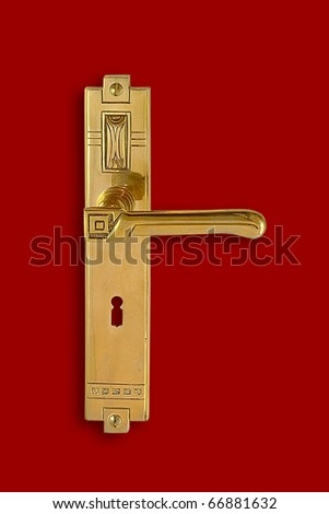 Door Handle, decorated, 05