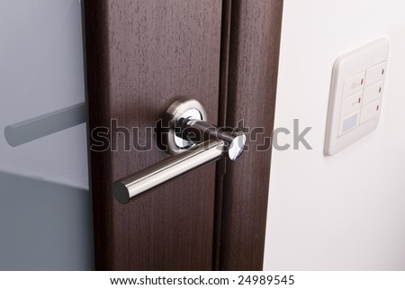 door handles and light switches