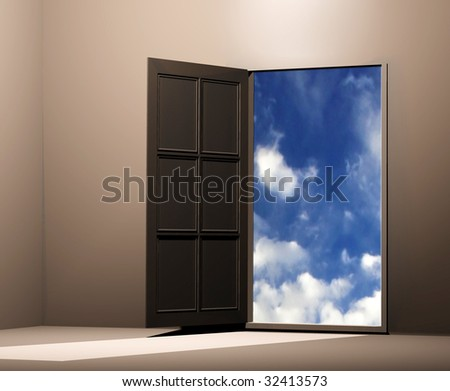 door in heavens