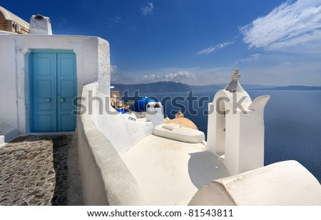 Door in Oia (Santorini,Greece)