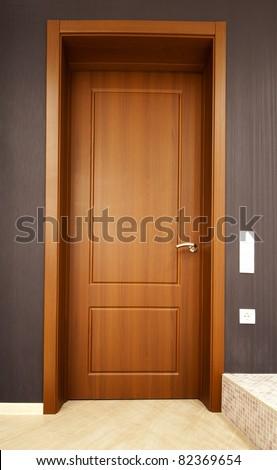 door in the room
