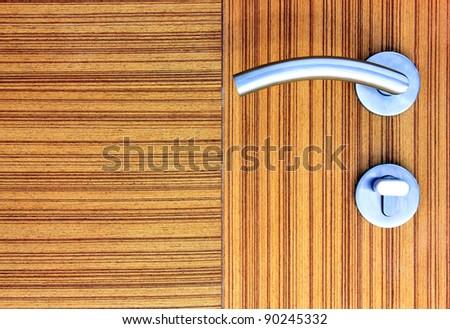 Door knob and door locker.