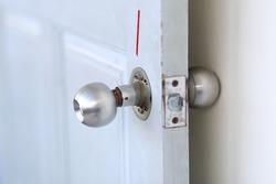 Door knob does not work.