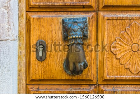 door knobs in venice. every one is different to the other and in a typical venetian style