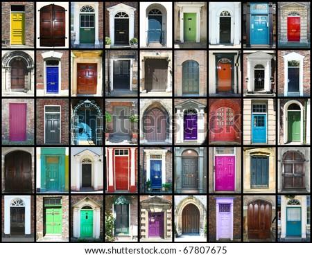 Door montage