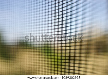 door mosquito wire screen black steel net protection from small insect bug  #1089303935
