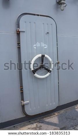 Door open boat