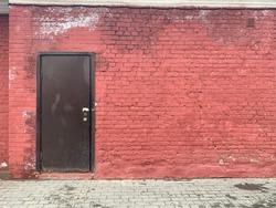 Door red vintage
