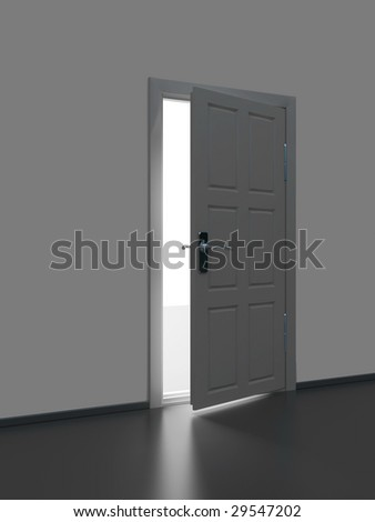 Door to light