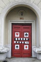 door to the brothel world