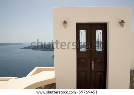 Door to the Mediterranean Sea