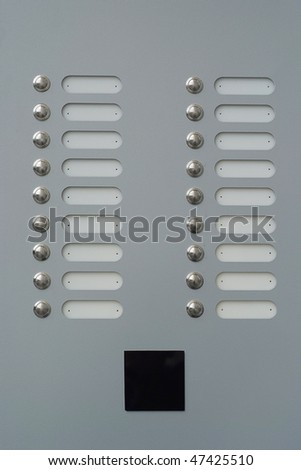 doorbells with blank tags