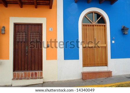 Doors in Old San Juan