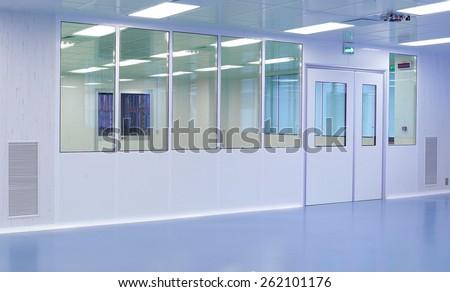 Doors separation in hospital building