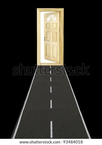 Doorway - stock photo