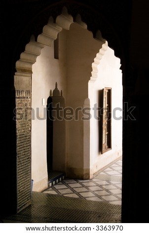 Doorway, Bahia Palace Marrakech