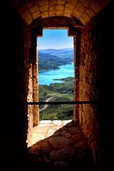 Doorway to majestic view