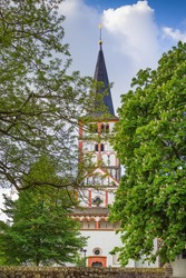Doppelkirche Schwarzrheindorf is a Romanesque church in Bonn, Germany. The church was once part of a Benedictine nunnery located at Schwarzrheindorf, now part of Bonn