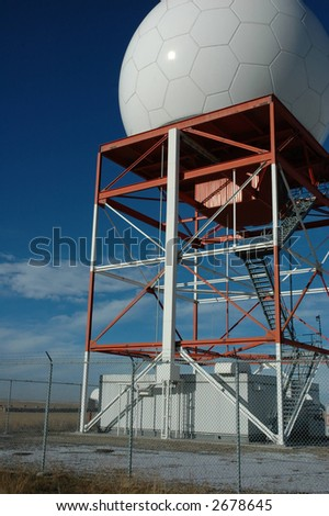 Doppler radar - stock photo