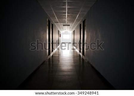 Dorm Hallways #349248941