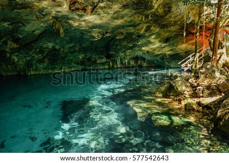 Shutterstock Dos Ojos cenote, Tulum, Quintana Roo, Mexico