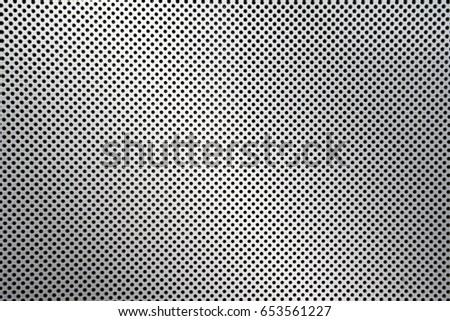 dot pattern of metal mesh filter  #653561227