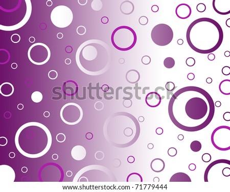 dots background - stock photo