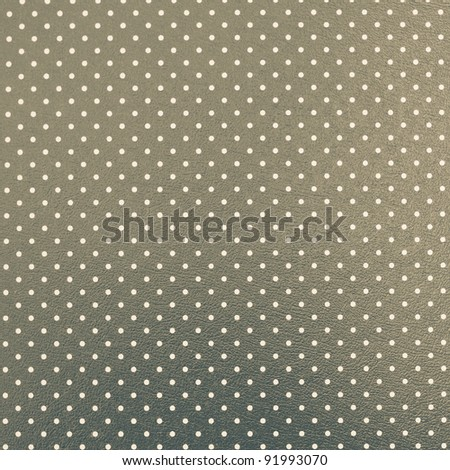 Dotted green-grey background
