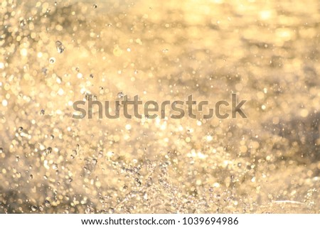 Double bokeh pattern Beautiful sponge background.Use for website/banner background, backdrop, montage #1039694986