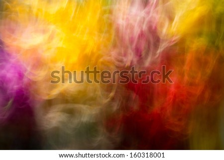Double color Burst, Red and yelow