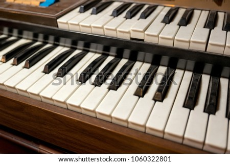 Double keyboard instrument #1060322801