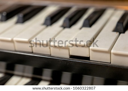 Double keyboard instrument #1060322807