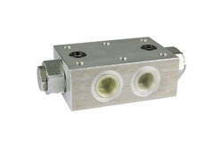 Double Pilot Operated Check valve, for hydraulic