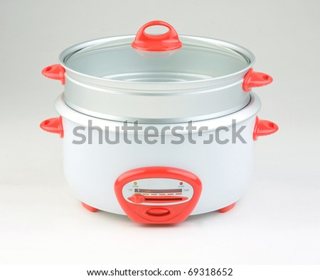 double streaming cooking pot for cooking