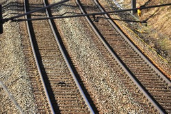 double track in rail traffic, tracks for mobility by rail