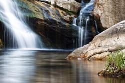 double waterfalls