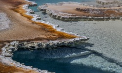 Doublet Pool, Upper Geyser Basin; Yellowstone National Park, Wyoming