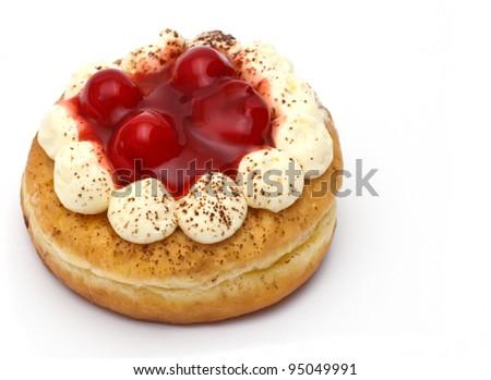 doughnut with jam