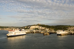Dover Harbour, England, UK