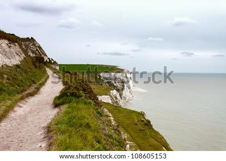 Dover's white cliffs