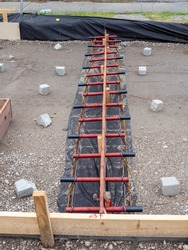 Dowel Rod Used in Concrete Pavement to Create Joint for Roadway