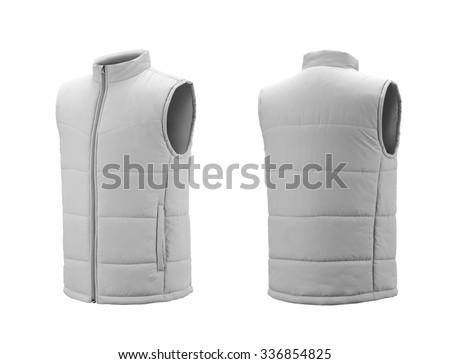 Down vest Foto stock ©