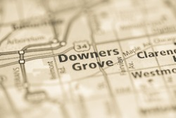 Downers Grove. Chicago. Illinois. USA