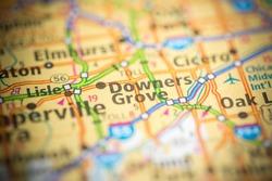 Downers Grove. Illinois. USA