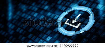 Download Data Storage Business Technology Network Concept